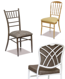 Formal Stack Chairs (5 High)