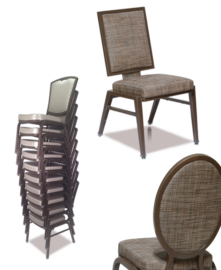 Aluminum Stack Chairs (10 High)